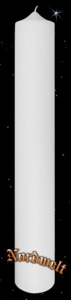 Altar-Kerze/Stabkerze, weiss (80 x 8 cm - gross)