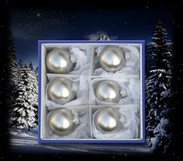 Weihnachtsbaum Kugeln Antik Silber