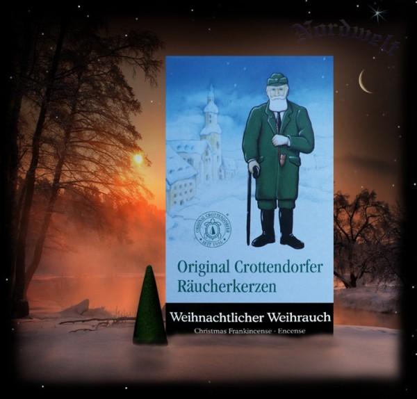 """Räucherkegel Räucherkerzen """"Weihnachtlicher Weihrauch"""""""