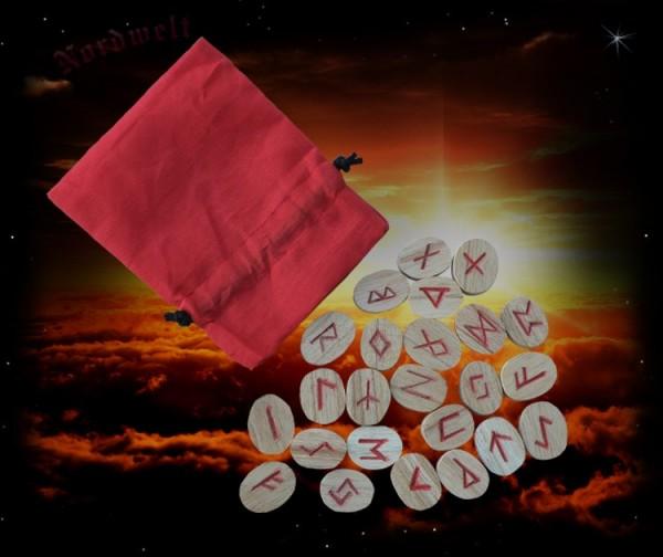 Runen Runensteine 24 er Futhark legen