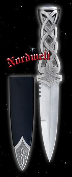 Kelten Dolch Phantasie Messer Brieföffner mit Thorhammer Mjönir Thors-Hammer