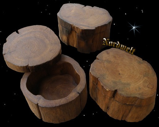 Holzschale aus Stammholz