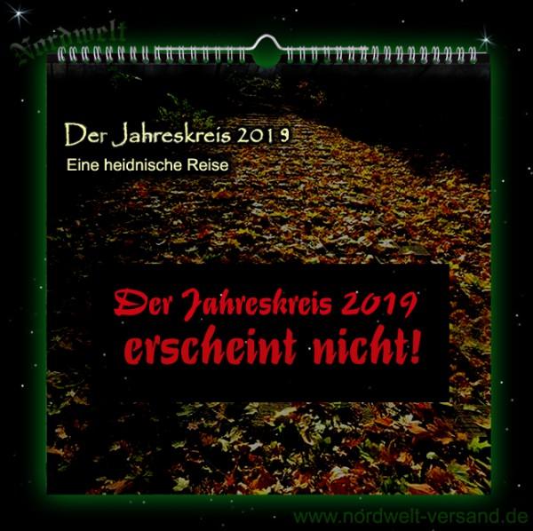 Kalender Der Jahreskreis 2019 Eine heidnische Reise ERSCHEINT NICHT 2019