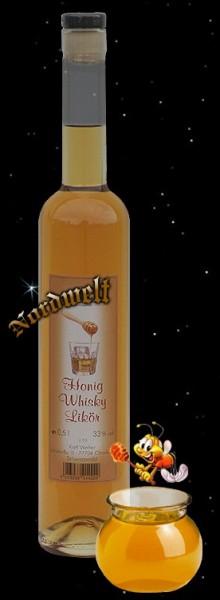 Honig-Whisky-Likör 0,5 ltr.