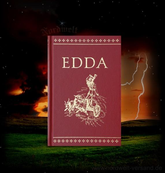 Buch Die Edda Götter- und Heldenlieder der Germanen germanische Religion Naturglaube