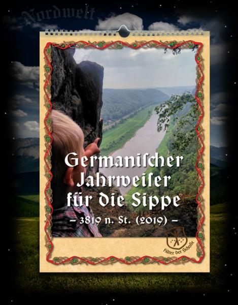 Germanischer Jahrweiser für die Sippe (Familienplaner) 2019 Kalender