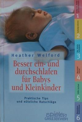 Buch Besser ein- und durchschlafen für Babys und Kleinkinder Walther Welford