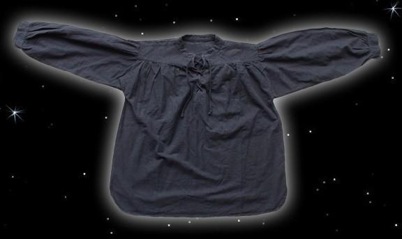 Schnürhemd Stehkragenhemd mit Ärmelschnüren, Piratenhemd, Gothikhemd, Pagan Asatru Hemd Husarenhemd