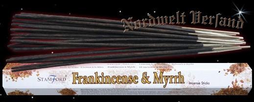 Weihrauch und Myrrhe Räucherstäbchen räuchern Räucherkegel und Räucher Zubehör Stamford