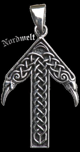 Tiwaz- Rune Tyr- Runen Anhänger Schmuck 925er Silber