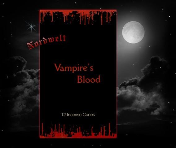 Raucherkegel Vampir Blut Stamford Räucherkerzen Räucherhütchen Vampirblut