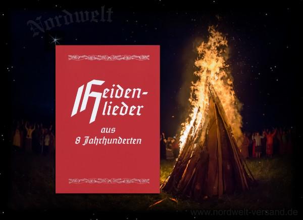 Buch Heidenlieder aus 8 Jahrhunderten Liederbuch Landsknechtslieder Liebeslieder Wanderlieder