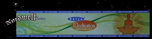"Räucherstäbchen Satya Nag Champa ""Meditation"""