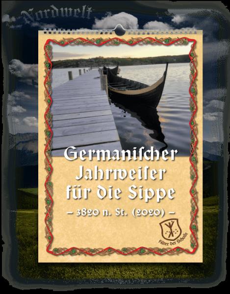 Germanischer Jahrweiser für die Sippe 2020 Kalender