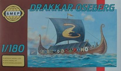 Wikingerschiff Modellbau Oseberg 1/180
