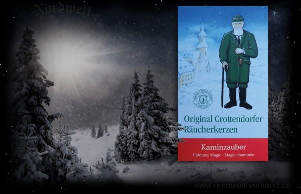 Kaminzauber Räucherkegel Räucherkerzen Weihnachten Julzeit Julfest Crottendorfer
