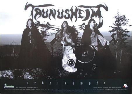 Poster Taunusheim Metal Band
