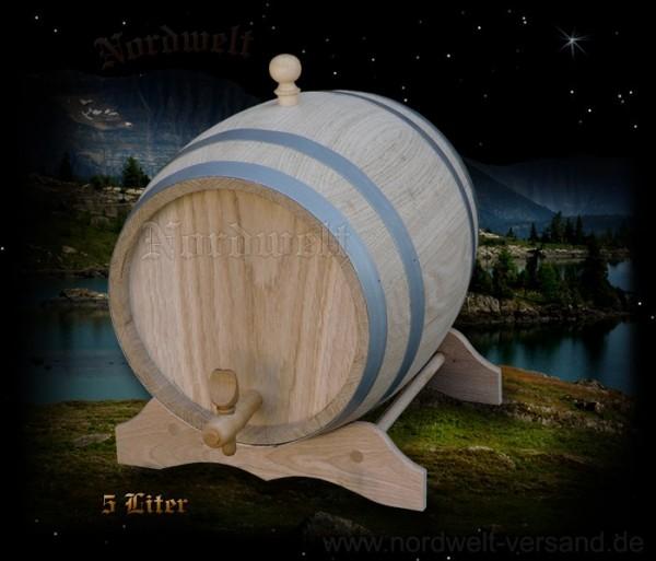 Fass 5 Liter aus Eichenholz