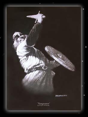 Wikinger mit Schwert und Schild Poster Nordmann Kunstdruck
