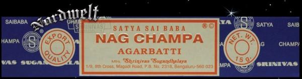 Räucherstäbchen Satya Sai Baba Nag Champa Argabatti