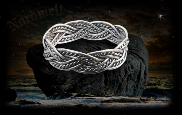 Wikinger Ring Thorngad 925er Wikingerschmuck aus Silber Pagan Asatru Germanen