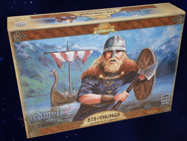 Viking - Invasion of England Historical Map Board