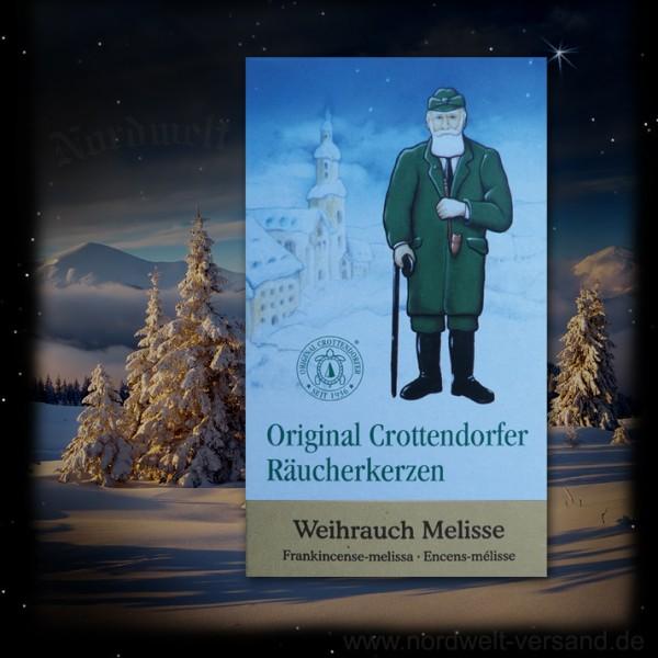 Räucherkegel Räucherkerzen Weihrauch Melisse Adventsduft Weihnachtsduft Julzeit Julfest Crottendorfer