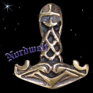 """Thorhammer """"Wikinger Krieger"""", bronze"""