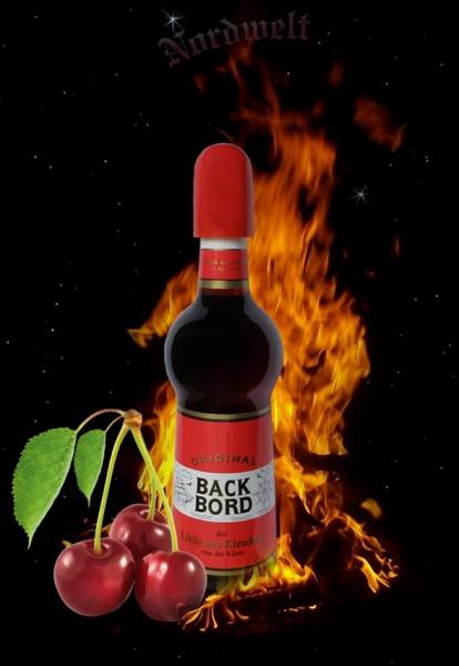 Kirschlikör Backbord Nordlicht Leuchtturm- Flasche
