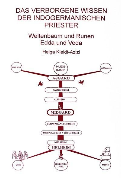 Buch Das verborgene Wissen der indogermanischen Priester Helga Kleidt- Azizi indogermanische Religion