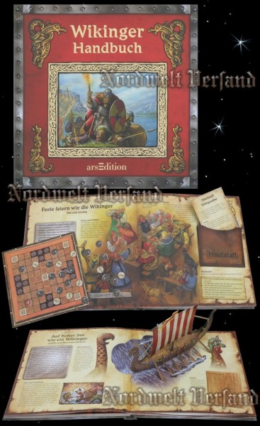 Das Wikinger Handbuch -Kinder Lernbuch Buch zur nordischen Zeitgeschichte und Runen