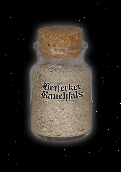 Berserker Salz Rauchsalz Wikinger Wikingersalz geräuchert mit Pilzen