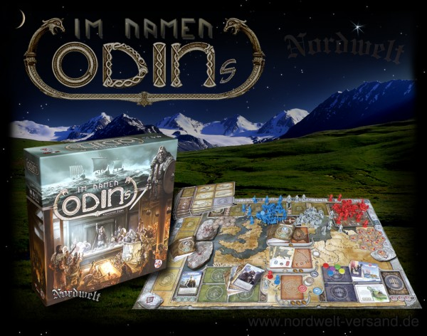Im Namen Odins Brettspiel Wikinger Strategiespiel
